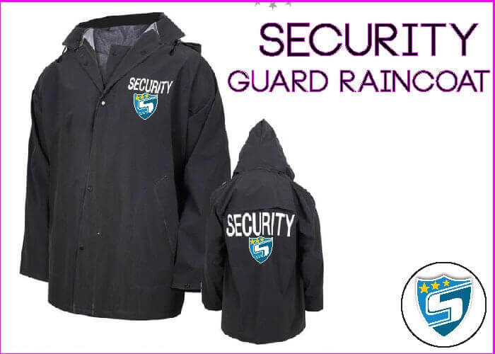 Security Guard Raincoat