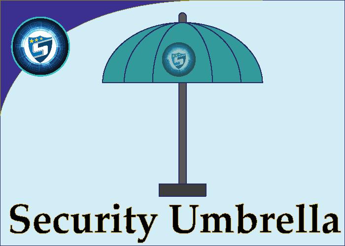 Security Guard Umbrella
